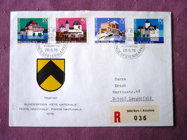 1945 - Hallo Leute, biete Ersttagsbriefe , suche Deutschland bis 1945 P10106396uk1u