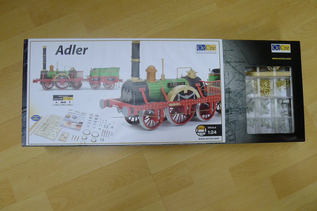 Baubericht, Lokomotive ADLER P10301431ey9w