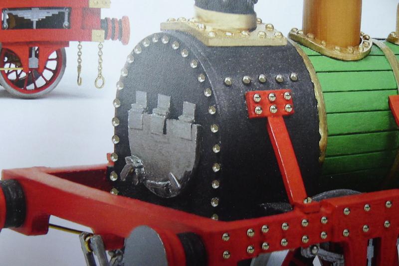 Baubericht, Lokomotive ADLER P10301673dlsk