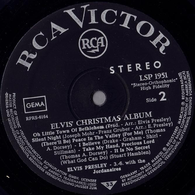 ELVIS' CHRISTMAS ALBUM (1964) Scan10iijxd30sfb