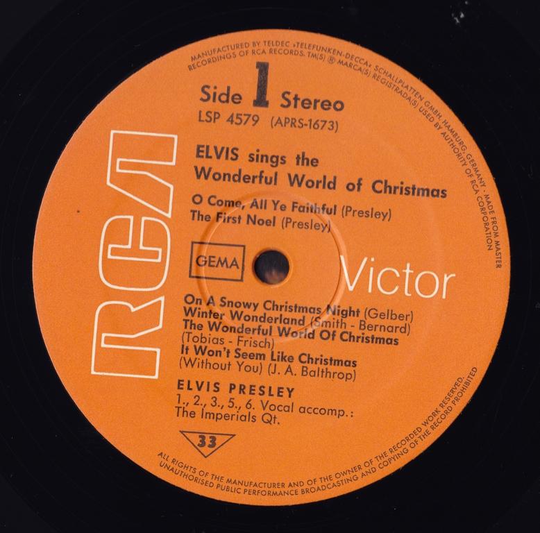 ELVIS SINGS THE WONDERFUL WORLD OF CHRISTMAS Scan95jklf