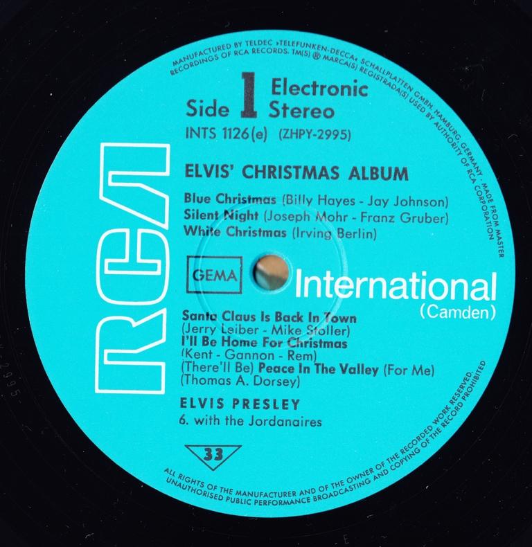 ELVIS' CHRISTMAS ALBUM (1970) Scan9s5jnl