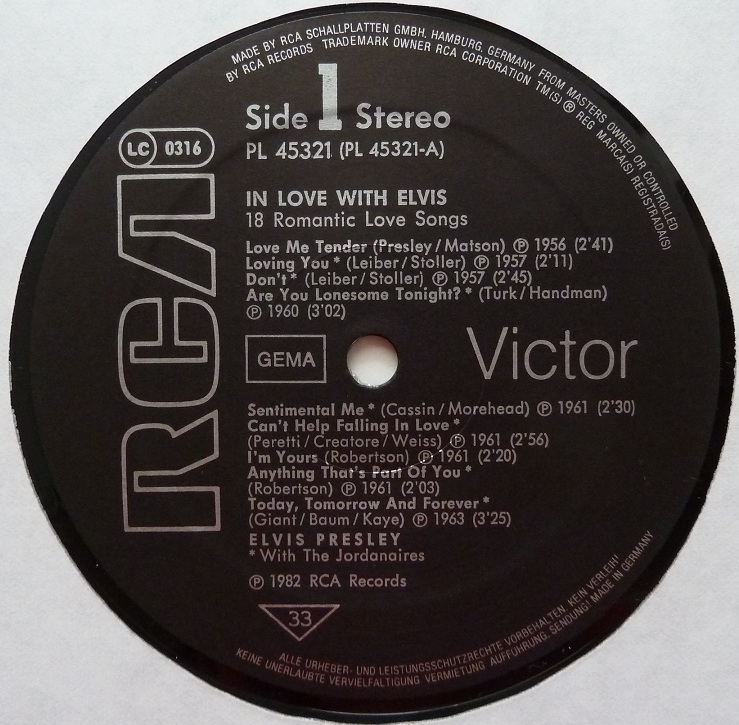 RCA LP-Label-Spiegel der Bundesrepublik Deutschland Sn1nfbdu