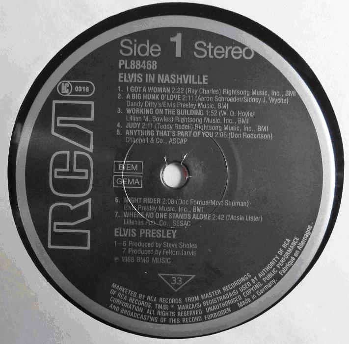 RCA LP-Label-Spiegel der Bundesrepublik Deutschland Sn6u3yk9
