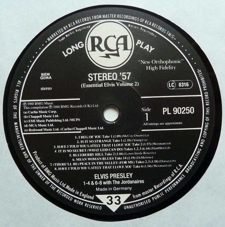 RCA LP-Label-Spiegel der Bundesrepublik Deutschland Sn7dmuag