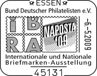 Internationalen Briefmarken-Messe in Essen vom 6. bis 10. Mai Sstnapostad0qs