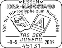 Internationalen Briefmarken-Messe in Essen vom 6. bis 10. Mai Ssttagderjugend62y4