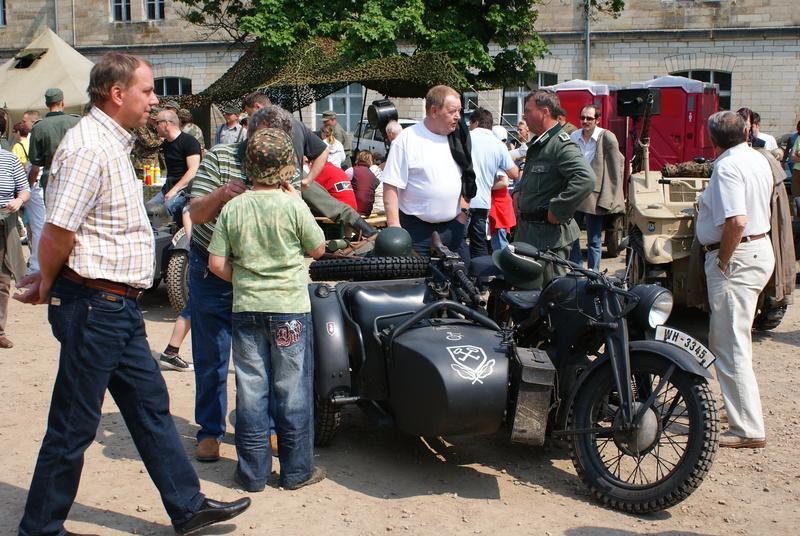 Besuch von Wehrmachtsfahrzeugen. Tim1221s5a0d