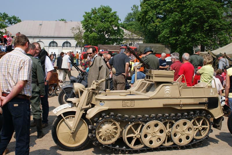 Besuch von Wehrmachtsfahrzeugen. Tim1222welsm