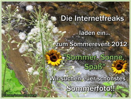 Sommer Aktion der Freaks Wetti1mrak9