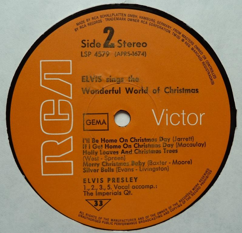 ELVIS SINGS THE WONDERFUL WORLD OF CHRISTMAS Wonderfulworldofchris6gx3c