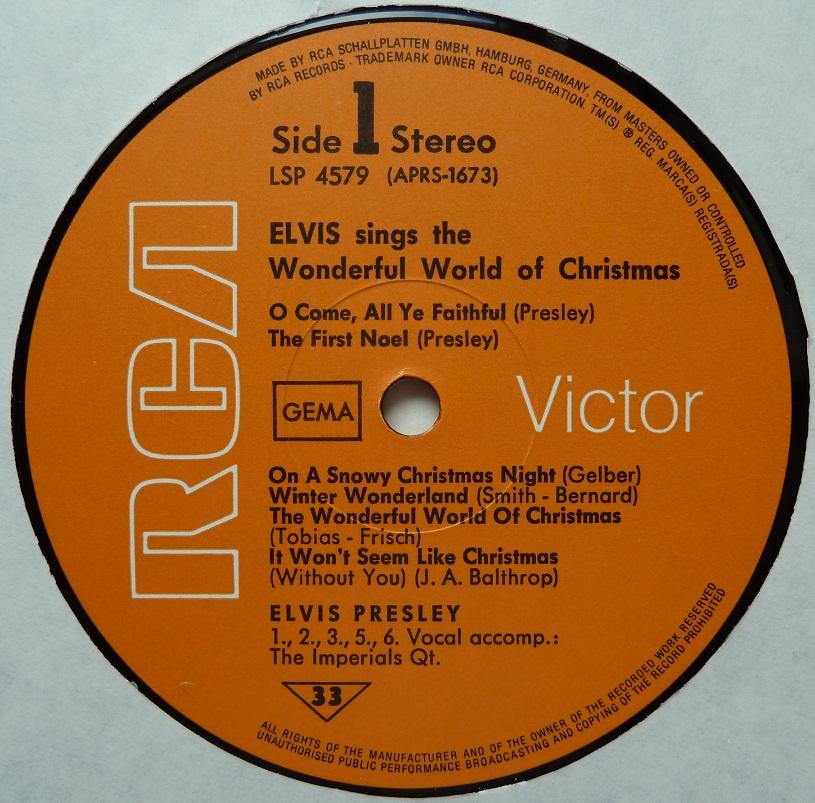 ELVIS SINGS THE WONDERFUL WORLD OF CHRISTMAS Wonderfulworldofchrisi6lef