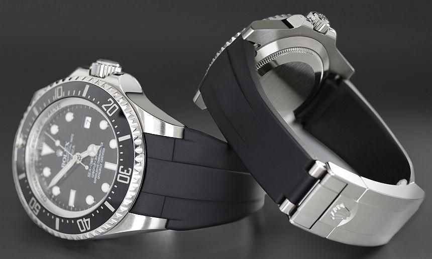 Rolex Deepsea Glidelock strap by Rubber B Rubber-B-Deepsea-Glidelock-Strap