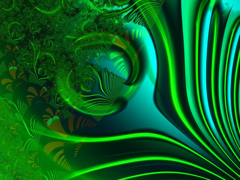 Magija zelene Blue-green-wallpaper