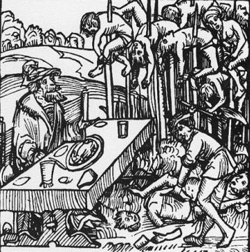 Ce qui est arrivé aux persos du GN en Mordor VladTepesImpaleForest