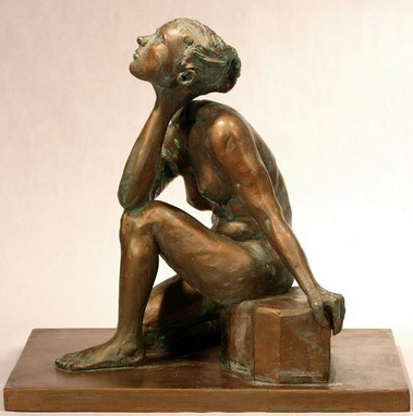 La  FEMME  dans  l' ART Woman_6_Side_view_Bob_Clyatt_Sculpture