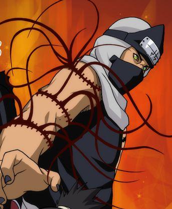 Regarde une feuille de personnage Kakuzu