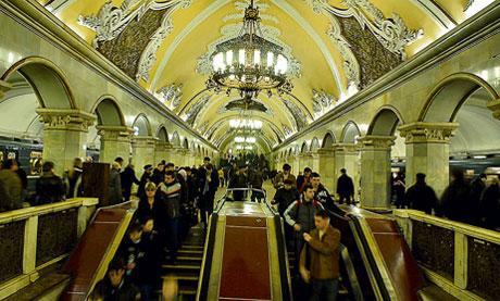 La belleza de las estaciones del Metro de Moscú 599023
