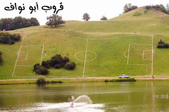 البوم صور مضحك مووووووووووت Voetbalveld
