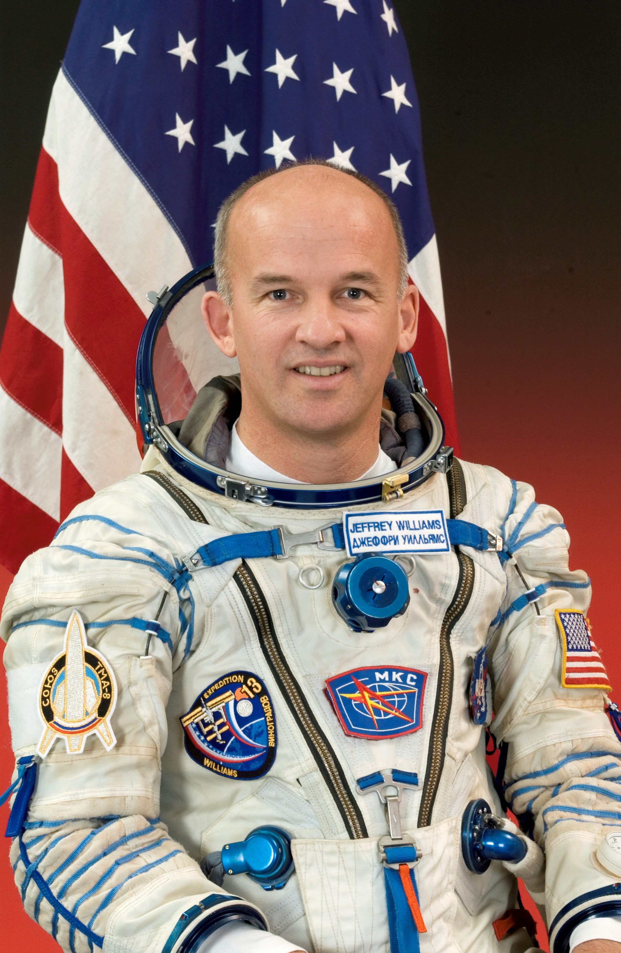 Histoires chrétiennes vécues par les astronautes sur la Lune et dans l'espace... 0124-0611-0218-3218_astronaut_jeffrey_n_williams_o