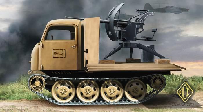 Les Steyr 470 RSO 72254