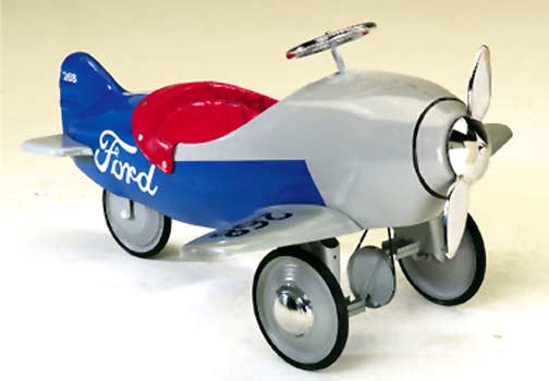 Авионот на Путин Pedal-planes-ford-flivver