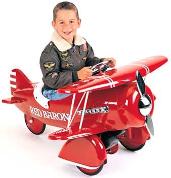 Авионот на Путин Pedal-planes-red-baron
