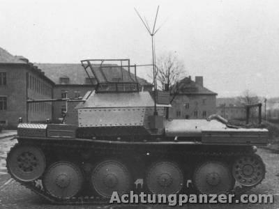 Le Panzerkampfwagen 38 (t) (SdKfz 140) Aufk38