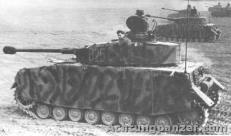 Le Panzer IV Iv