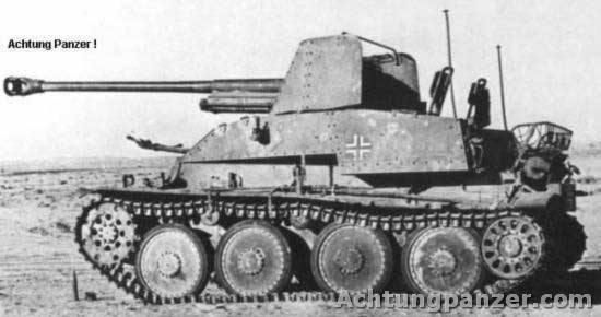 Les Marder III (SdKfz 139 et 138) Marder139