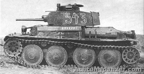Le Panzerkampfwagen 38 (t) (SdKfz 140) Pz38_2