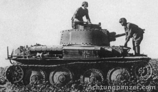 Le Panzerkampfwagen 38 (t) (SdKfz 140) Pz38c