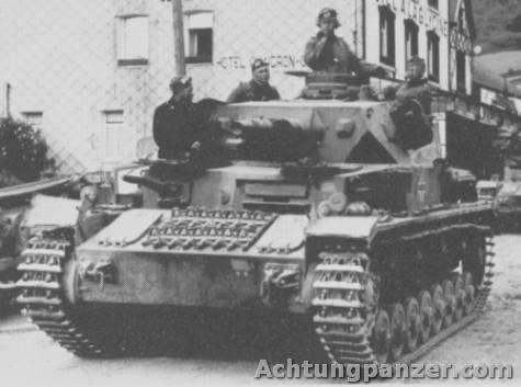 Le Panzer IV Pz3pl