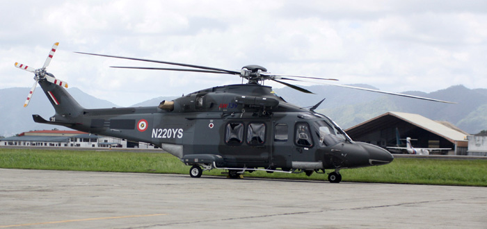 Armée de  la République de Trinité-et-Tobago /Republic of Trinidad and Tobago armed forces  TT%20AW139%20TTMonitor
