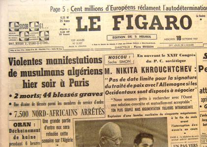 commémoration du 17 octobre 1961 - Page 2 04-_Le_Figaro_18_octobre