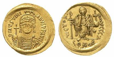 Sólido de Justino II 1017475.m