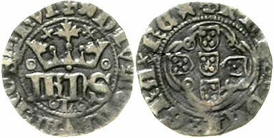 1/2 Real de Juan I.  1303690.m