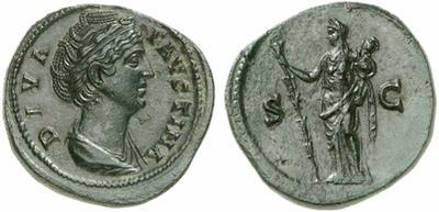 Sestercio de Faustina I. AVGVSTA / S C. Ceres 923328.m