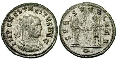 Aureliano de Tácito. SPES PVBLICA. Victoria y Emperador. 802159.m