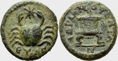AE14 de Mopsus. Cilicia 1048817.m