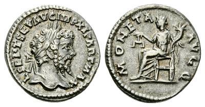 Denario de Septimio Severo MONETA AVGG. Laodicea. 1811850.m