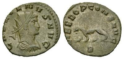 Antoniniano de Gallieno. LIBERO P CONS AVG. Roma. 1971494.m