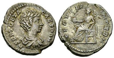Denario de Geta. SECVRIT IMPERII. Roma. 2301786.m