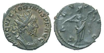 Antoniniano de Victorino. SALVS AVG. Colonia 2438102.m