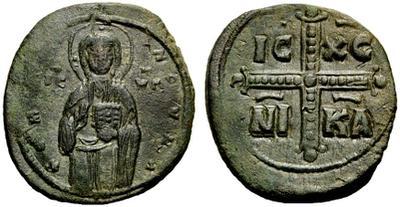 Follis anónimo atribuido a Miguel IV 1000809.m