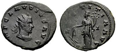 Antoniniano de Claudio II. LAETITIA AVG. Siscia 1157252.m