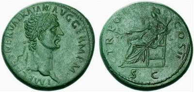 Sestercio de Trajano 378804.m