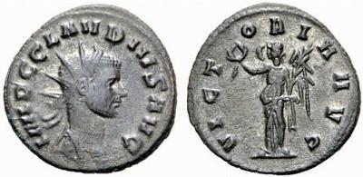 Antoniniano de Claudio II. VICTORIA AVG. Roma 502735.m