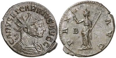 Carus - Carinus - Numerien et Sol sur une même monnaie 1200578.m