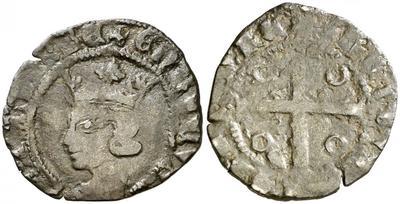 Cruzado de Enrique II (1369-1379) de Sevilla 1892911.m